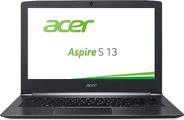 Acer Aspire 13 S5-371-767P 33 8cm 13 3 Zoll Full HD IPS Laptop Intel Core i7-6500U 8GB RAM 512GB SSD Intel HD Graphics 520 Win 10 Home schwarz Schätzpreis : 400,00 €