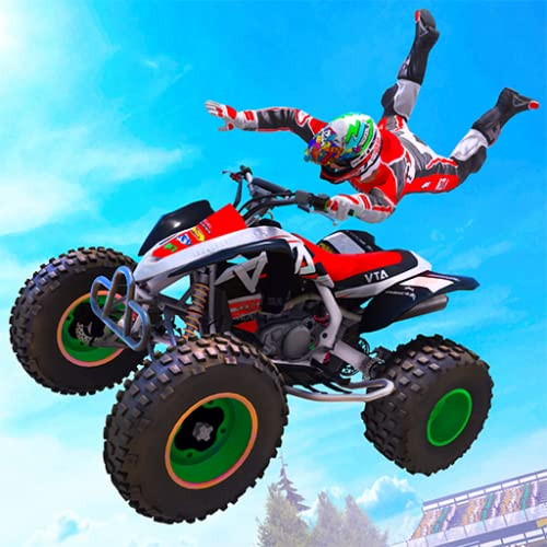 Quad Bike ATV Crash Stunts Arena: Xtreme Demolition Derby Ramp