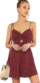knot back dress