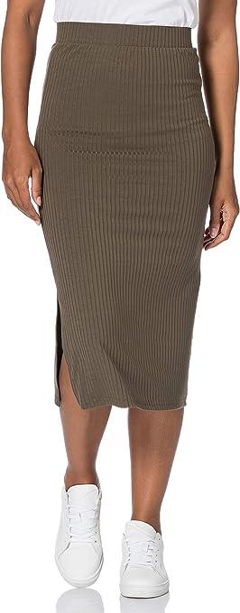 PIECES Pckylie MW Midi Skirt Noos Gonna Donna