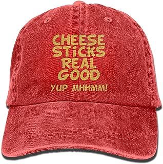 Cheese Sticks Real Good Mens&womens Vintage Style Fashion Sun Cap Baseball Cap