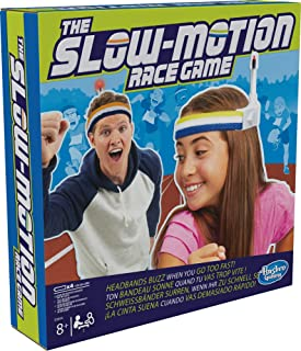 Hasbro Gaming The Slow-Motion Race Game for Kids From Age 8, Nylon/A