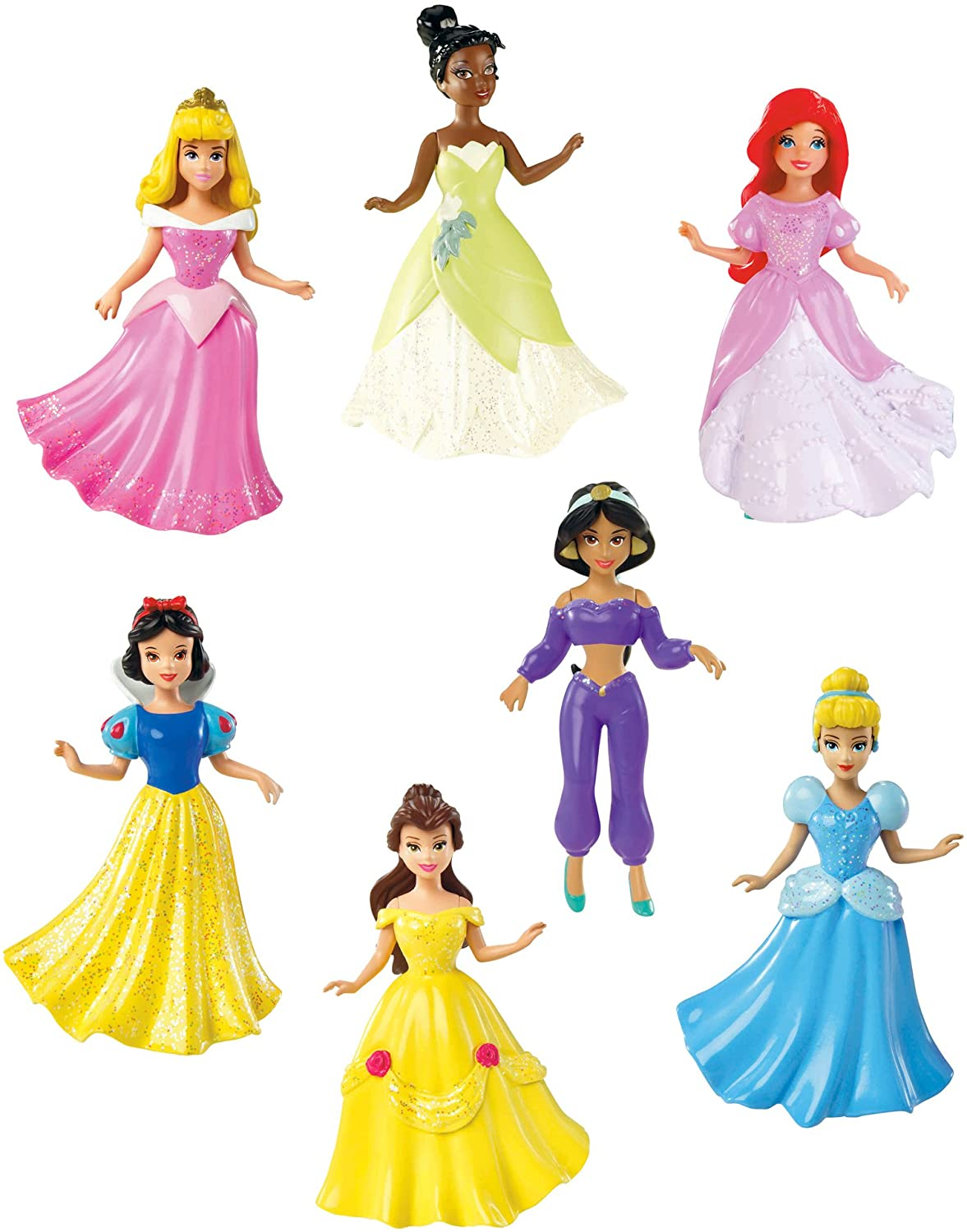 Max 43% OFF Disney Princess Collection 7-Doll New item Set Gift