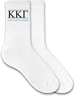 Best Sorority Greek Letters and Name - Crew Socks Reviews