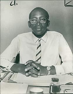 Vintage photo of King Moshoeshoe Basutoland: