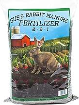 Gus's Rabbit Manure Fertilizer, 5 Pounds, 2-2-1, Dry & Ground, Nutrient Dense Compost for Planting & Growing
