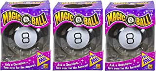 Magic 8 Ball Toy Game (Pack of 3)