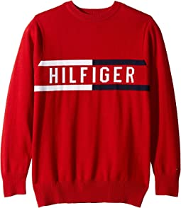 Hilfiger Logo Sweater (Big Kids)