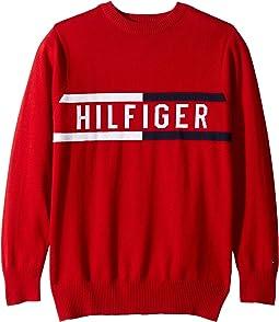 Hilfiger Logo Sweater (Big Kids)