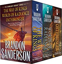 Stormlight Archive MM Boxed Set I, Books 1-3: The Way of Kings, Words of Radiance, Oathbringer (The Stormlight Archive)