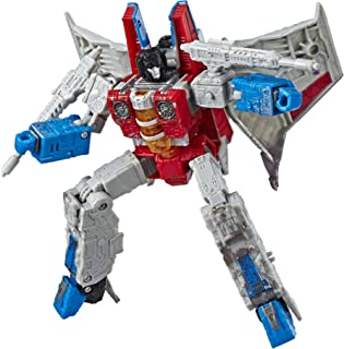 Transformers Toys Generations War for Cybertron Voyager Wfc-S24 Starscream Action Figure - Siege Chapter - Adults & Kids A...