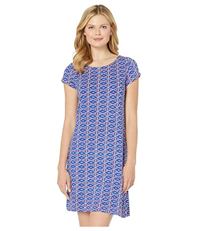 Hatley Nellie Dress (Triangle Stamps Blue) Women