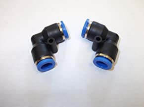 Ø 6mm PV Pneumatique coude à 90° de l°°union poussoir raccord