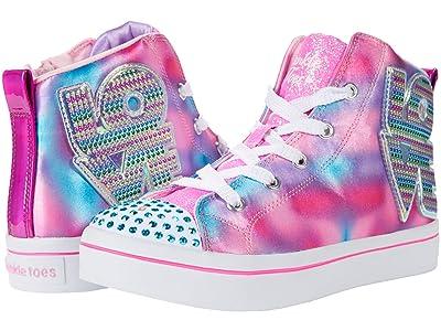 SKECHERS KIDS Twinkle Toes Twi-Lites Love Shine 314418L (Little Kid) (Hot Pink/Multi) Girl