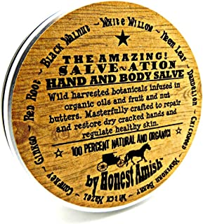 All Natural and Organic Herbal Hand and Body Healing Salve By Honest Amish