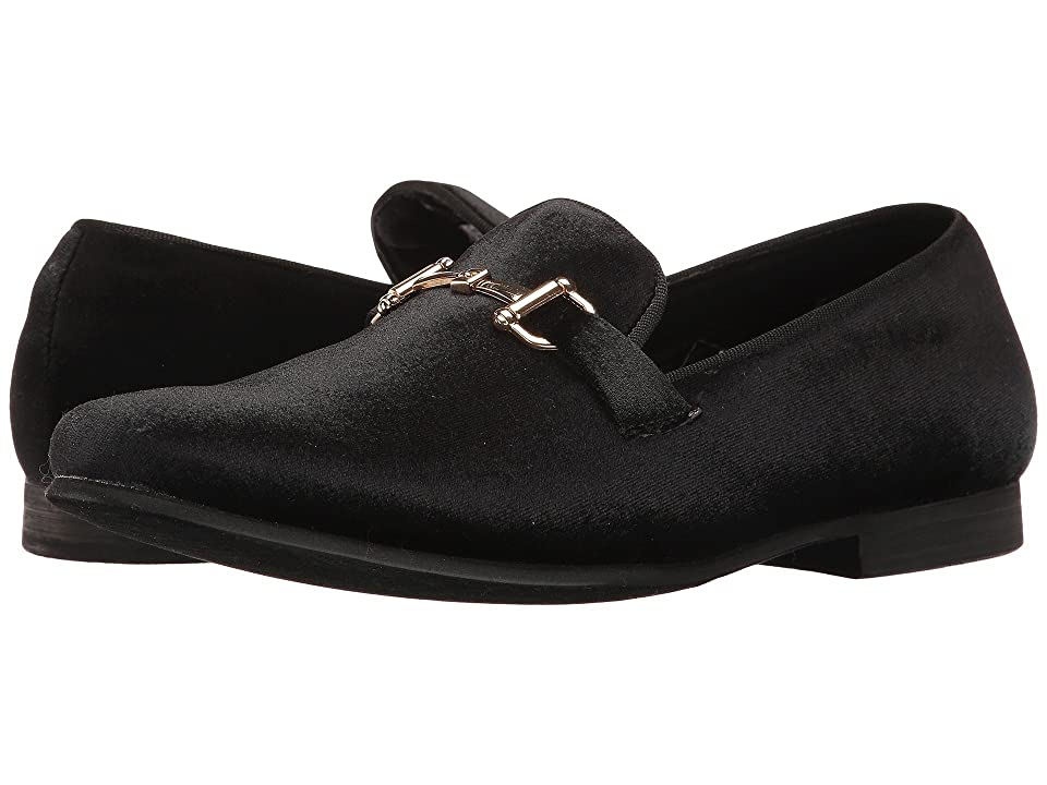 Steve Madden Coine (Black Velvet) Men's Slip on Shoes