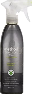 method Stainless Steel Cleaner + Polish Spray, Orchard Blossom, 12 oz