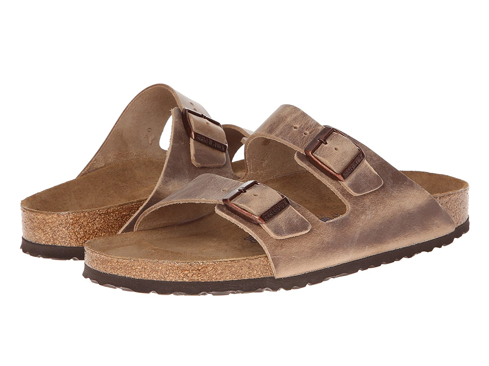 Birkenstock Arizona Soft Footbed - Leather (Unisex)Comfortable and distinctive shoes