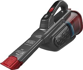 Black+Decker Lithium Dustbuster BHHV315B met Cyclonic Action – 12 V accu-handstofzuiger met uittrekbare voegenzuigmond en ...