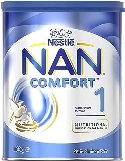 NESTLE NAN COMFORT 1, Starter 0-6 Months Baby Formula Powder, 800g