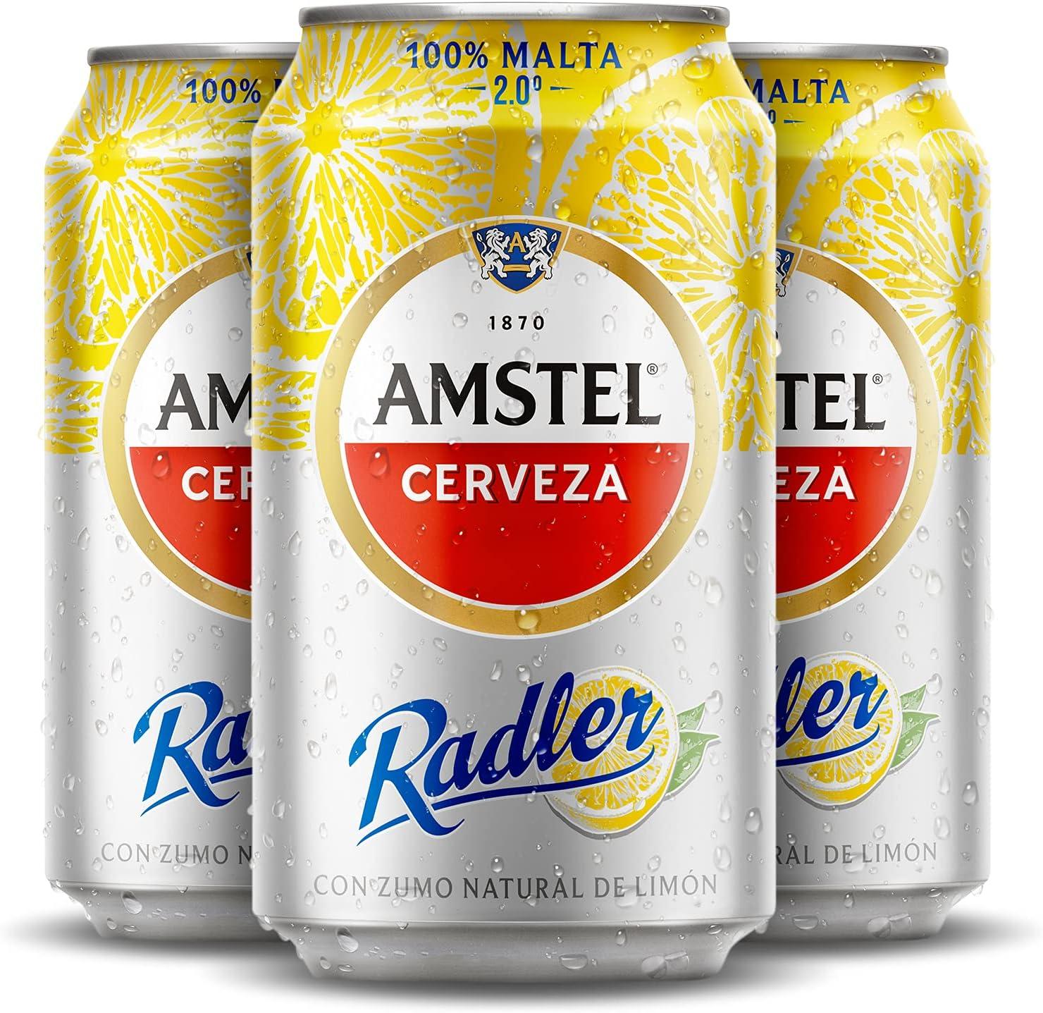 Amstel Radler Cerveza, Pack de 24 x 33cl