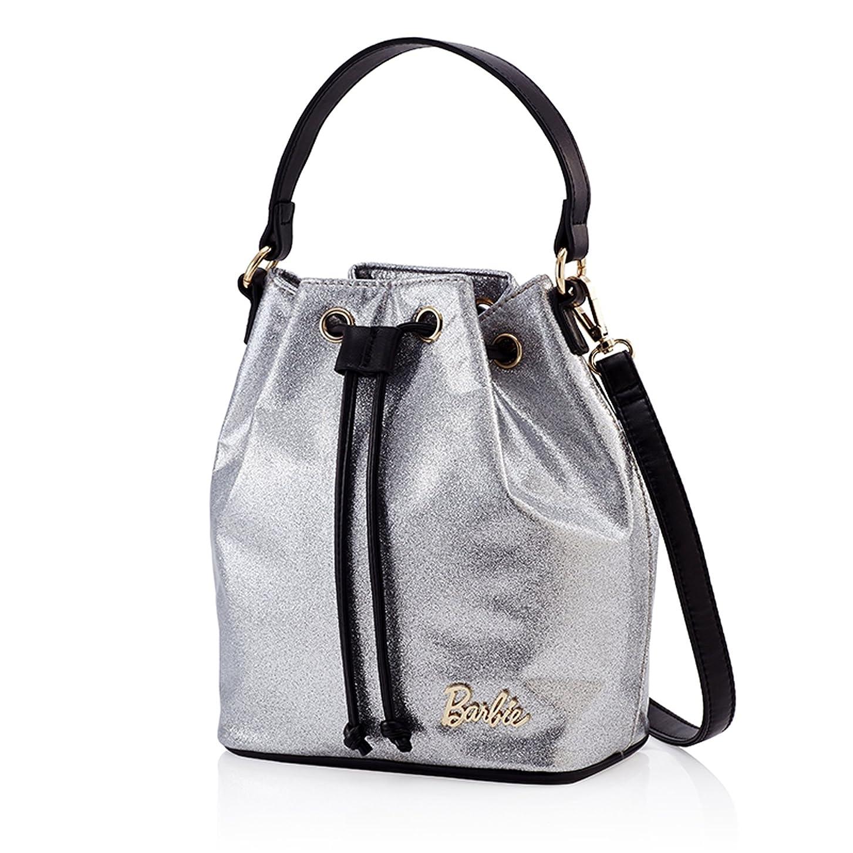 手つかずの更新ヘッジBarbie バービー ファッションシリーズ 高級PUレザー ハンドバッグ ショルダーバッグ レディースバッグ