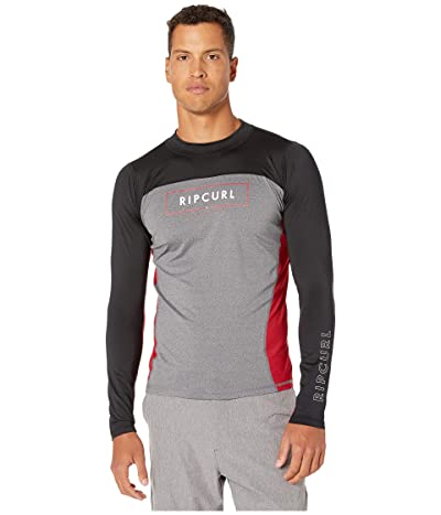 Rip Curl Underline Relaxed Long Sleeve UV Tee (Red) Men