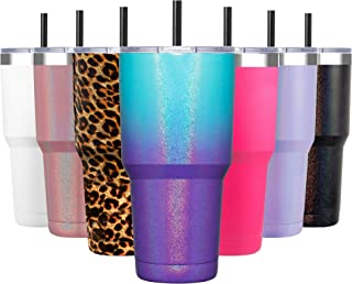 10 oz Lowball Ombre Chunky Glitter SEALED Stainless Tumbler without decal Made to order!!!