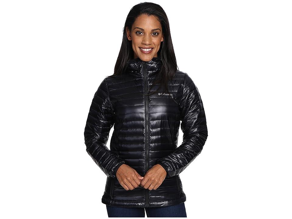 Columbia Platinum Plus 740 TurboDown Hooded Jacket (Black) Women