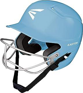 EASTON Alpha TBall Softball Batting Helmet with Mask, 2021, Dual-Density Impact Absorption Foam, High Impact Resistant ABS...