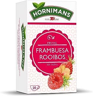 Hornimans Raspberry Rooibos Tea Decaffeinated 20 teagbags