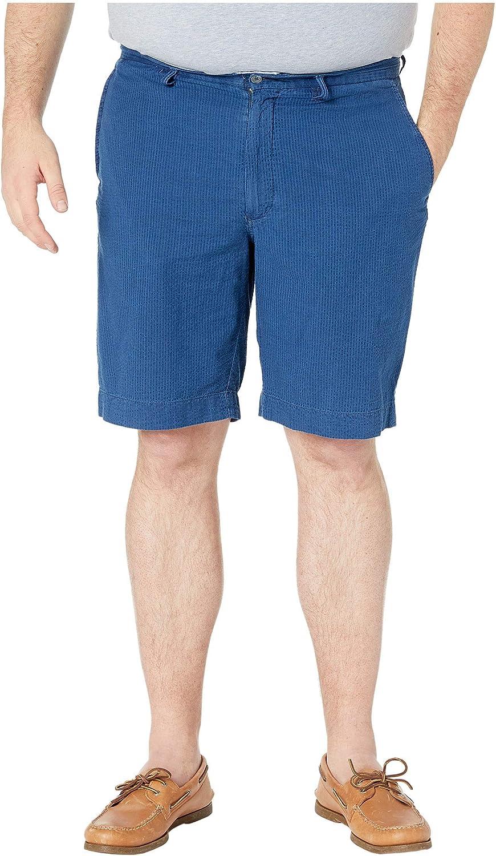 Men's Big and Tall Classic Fit Seersucker Shorts