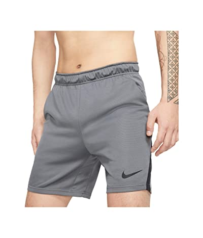 Nike Dry-FIT Knit Short 5.0 (Iron Grey/Black/Black) Men
