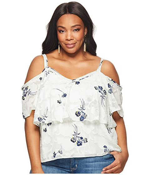 137315535d38b6 Lucky Brand Plus Size Floral Cold Shoulder Top. 55% OFF!  35.7855%  OFF!MSRP   79.50