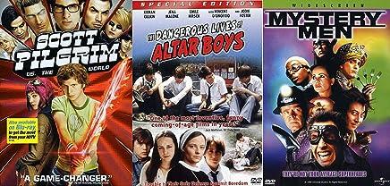 Alt Comic Book Super Heroes Bundle - Scott Pilgrim vs. The World, Mystery Men & The Dangerous Lives of Altar Boys 3-DVD Collection