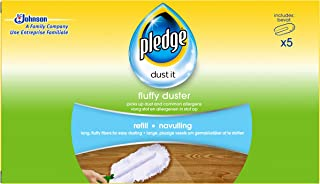 Pledge Duster Refills Box of 5 (Pack of 4, Total 20)
