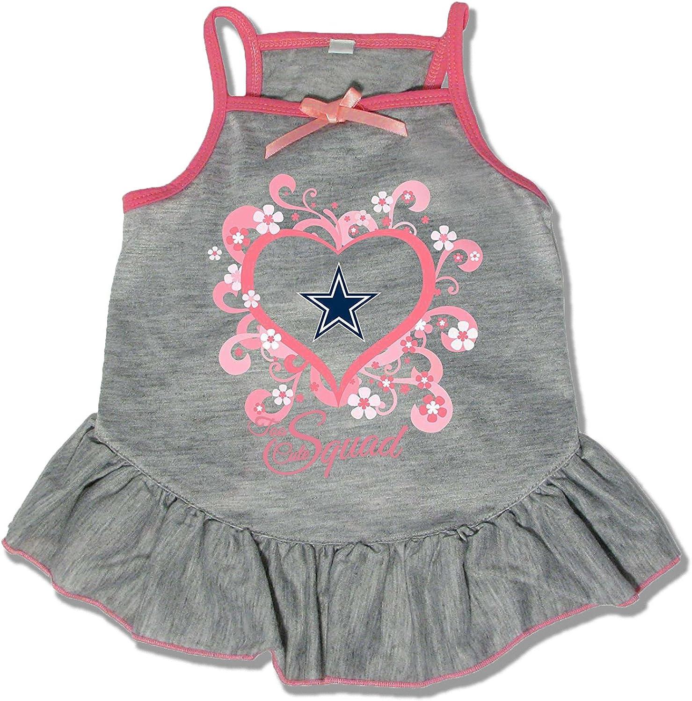 (Large) - NFL Dallas Cowboys Too Cute Pet Dress