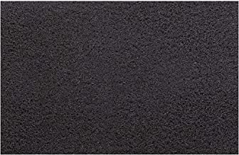 KUBER INDUSTRIES KUBMART005007 Rubber 1 Piece Large Size Door Mat 24x36'', Brown, 60x90 cm