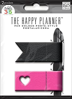 Me and My Big Idea Happy Planner Pen Holders in Pink and Black