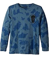 Munster Kids - Tri Skull Jersey Long Sleeve Tee (Big Kids)