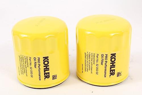 2021 Kohler (2 Pack) 52 050 02-S1 Engine high quality Oil Filter Extra Capacity For M18 - M20, CV11 - outlet online sale CV16, CH11 - CH16, LV560 - LV675, CV460 - CV490 sale