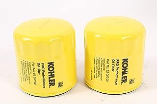 Kohler (2 Pack) 52 050 02-S1 Engine Oil Filter Extra Capacity For M18 - M20, CV11 - CV16, CH11 - CH16, LV560 - LV675, CV460 - CV490