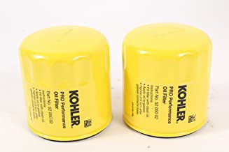 Kohler (2 Pack) 52 050 02-S1 Engine Oil Filter Extra Capacity For M18 - M20, CV11 - CV16, CH11 - CH16, LV560 - LV675, CV460 - CV490