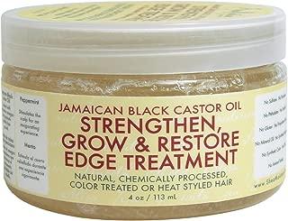Shea Moisture Jamaican Black Edge Treatment 4 Ounce (118ml) (3 Pack)