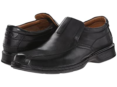 Clarks Escalade Step (Black Leather) Men