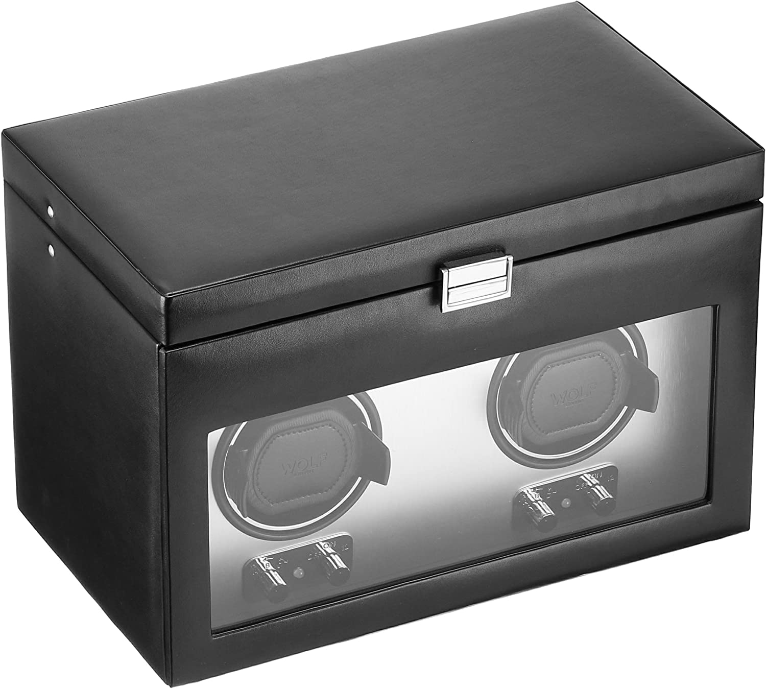 WOLF 270403 Heritage Double Max 83% OFF Watch Winder Cover Store and Storage with