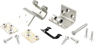 Genuine GM Parts 19257344 Intermediate Side Door Lower Door Hinge Kit with Hinges, Backing Plates, Pin, Stop, and Bolts