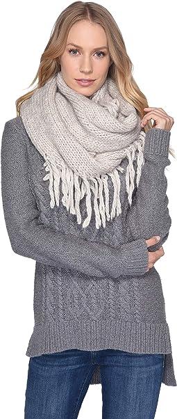 d42f4747b6e Ugg fine gauge color block infinity scarf