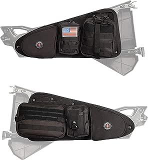 Bombshell Gear Polaris RZR UTV Storage Door Bags w/MOLLE Pouches (Pair)