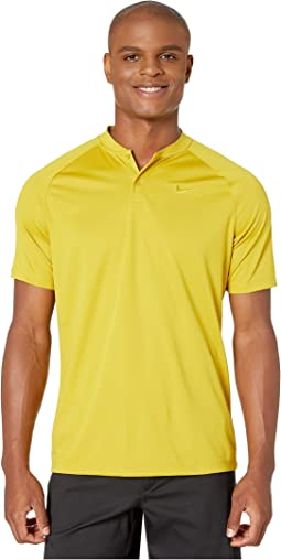 bdf8ee3110 Nike golf mens dri fit golf shirt neon yellow + FREE SHIPPING ...